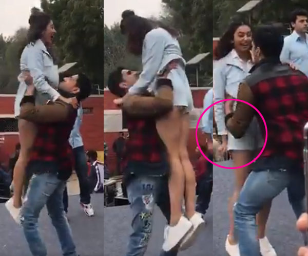 Oops! Rakul Preet accidentally shows of her Fluffy Back - Video and Photos Proof