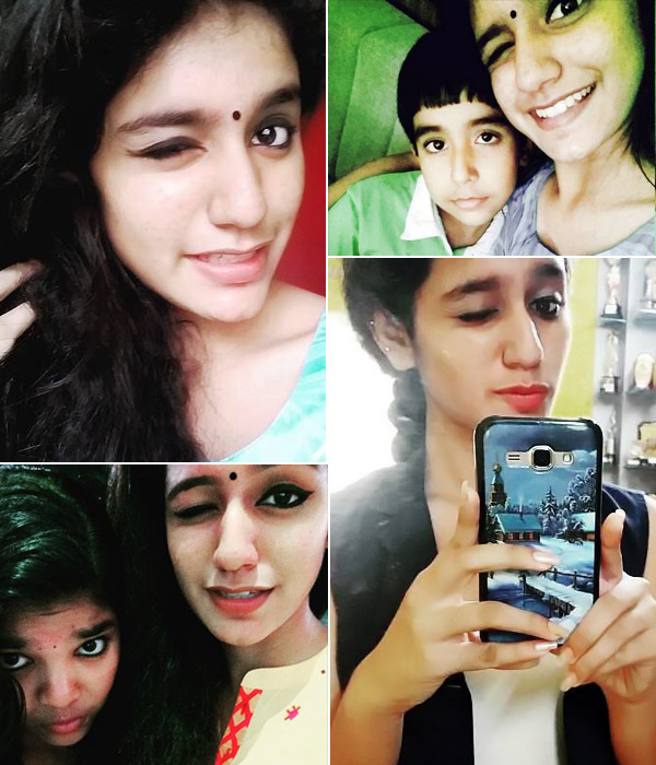We know how she Priya Prakash Warrier Mastered the art of wink and Kiss - Photos and Videos Inside