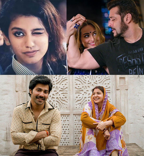 Viral News Today Home: Anushka Sharma-Varun Dhawan, Priya Varrier, Sonakshi Sinha
