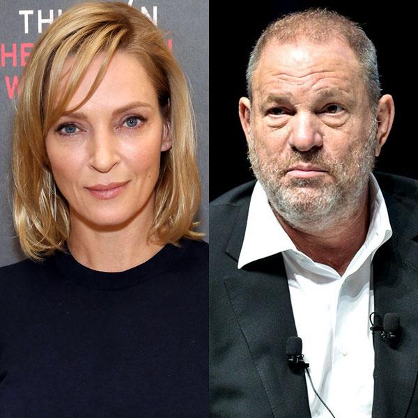 Uma Thurman Breaks Her Silence on Harvey Weinstein