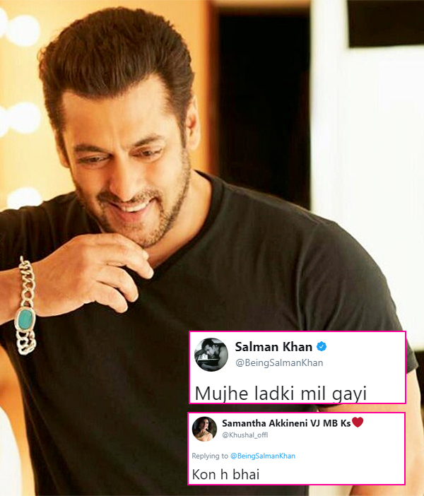 Salman Khan tweets that he found a girl, Twitter goes berserk