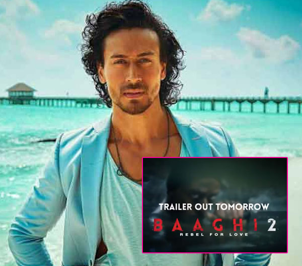 Ek Do Teen Song Baaghi 2 Download Pagalworld: Tiger Shroff's Killer Gaze Sets The Mood Right For The