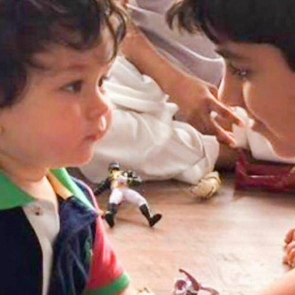 Kareena Kapoor Khan-Saif Ali Khan's son Taimur's cutest clicks