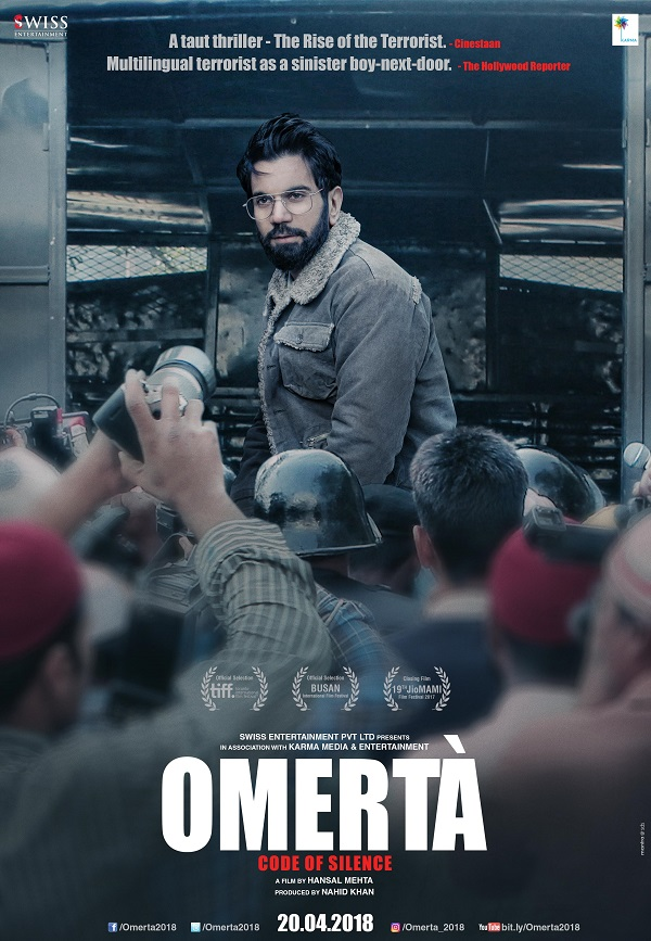 Omerta 2018 Hindi PreDVDRip AAC 700MB MKV