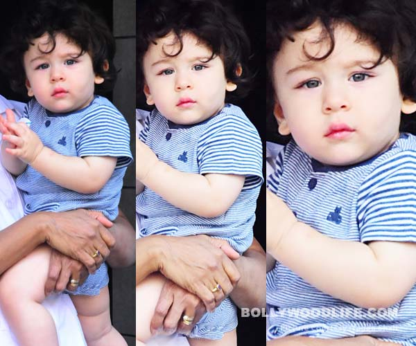 [New pics] Taimur's royal gaze will have you hypnotised from the very first frame