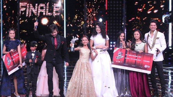 The Voice India Kids 2 winner Manashi Sahariah takes home the trophy