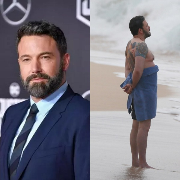 Ben Affleck Claps Back at Article Making Fun of Tattoo, 'Pooching' Gut