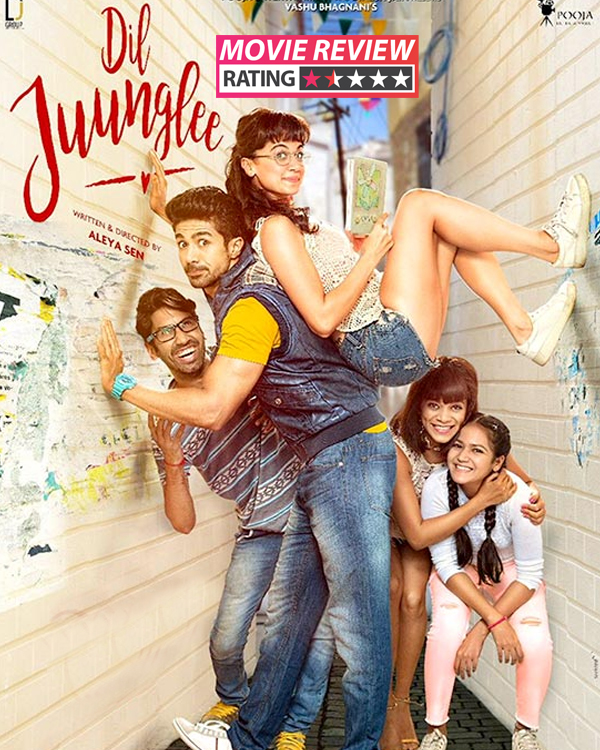 Dil Juunglee movie review: Saqib Saleem and Taapsee Pannu's film is a love story without a soul