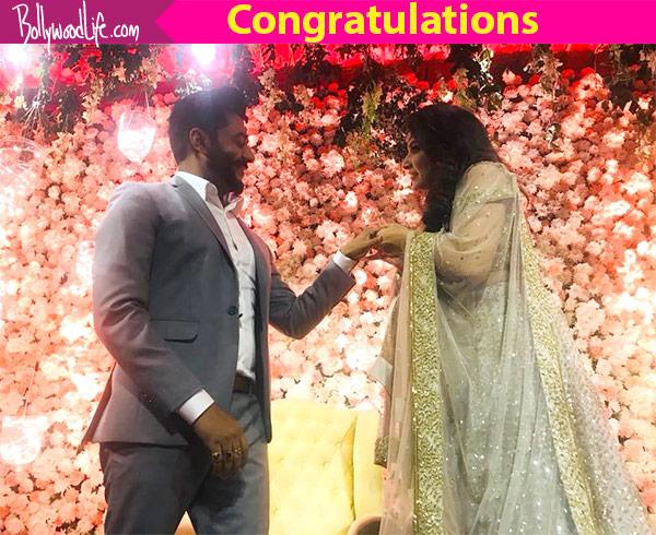 inside pic raj chakrabortysubhasree ganguly get engaged