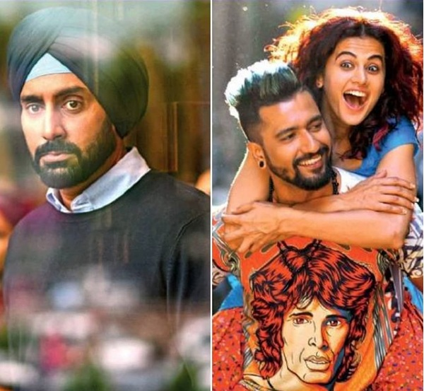 Manmarziyaan First Look: Jr.Bachchan Looks Intense In Turban While Fresh Pairs Taapsee And Vicky Are Found Intresting... 1