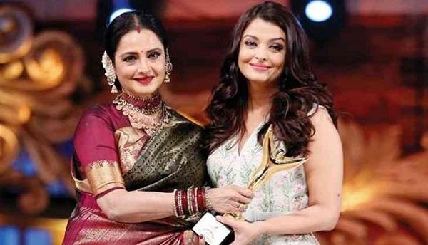 Rekha pens an emotional letter for Aishwarya Rai Bachchan, calls her a 'complete Amma'