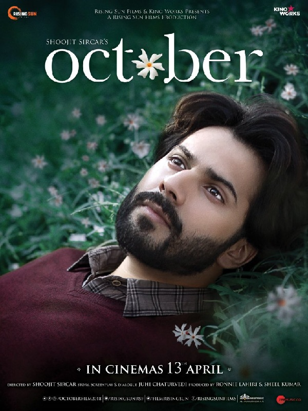 October FIRST POSTER out Varun Dhawan looks lost as he lazes in a