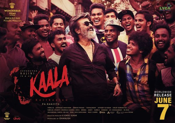 Rajinikanth's Kaala to release on June 7, Dhanush announces