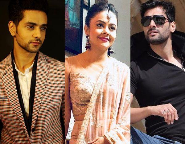 Baware Nain actors Shakti Arora, Devoleena Bhattacharjee, Aham sharma pics, images, photos