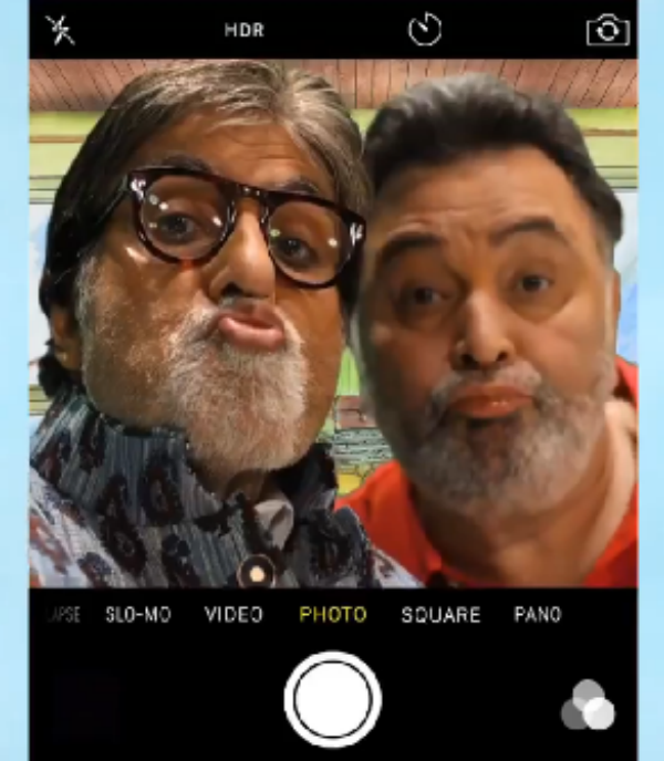 Abhishek Bachchan shares adorable pout selfie with dad Amitabh Bachchan