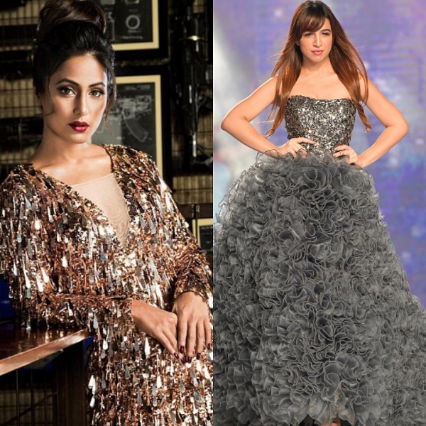 Hina Khan walks the ramp for Streak professional, announcing their summer collection