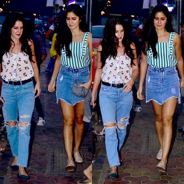 Katrina Kaif's Sunday dinner with sister Isabelle, mother