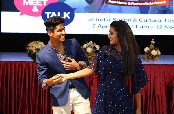 Wink girl Priya Prakash Varrier wishes Roshan, writes 'needn't say anything'
