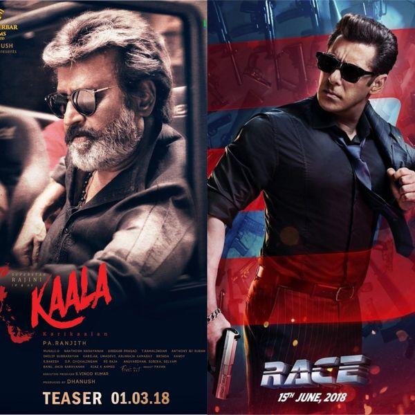 Rajinikanth's Kaala to clash with Salman Khan's Race 3 at Box Office?