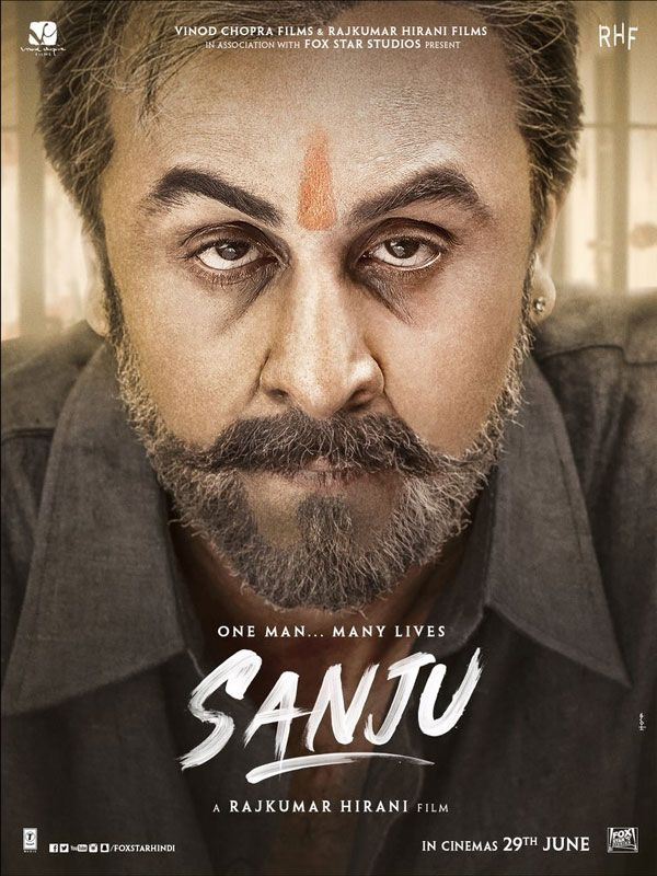 Sanjay Dutt biopic new poster of Sanju releases today Ranbir Kapoor is looking very tough