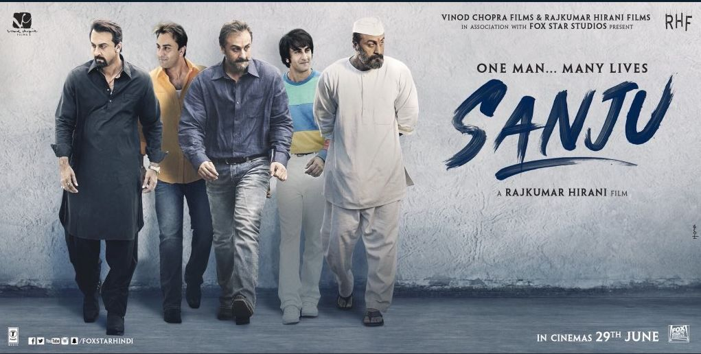 sanju Movie one man many lives