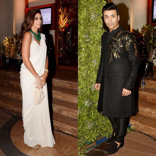 Karan Johar And Shweta Bachchans Dance Videos From Sandeep Khoslas