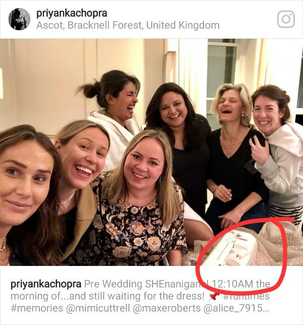 Did Priyanka Chopra Accidentally Reveal The Look Of Her