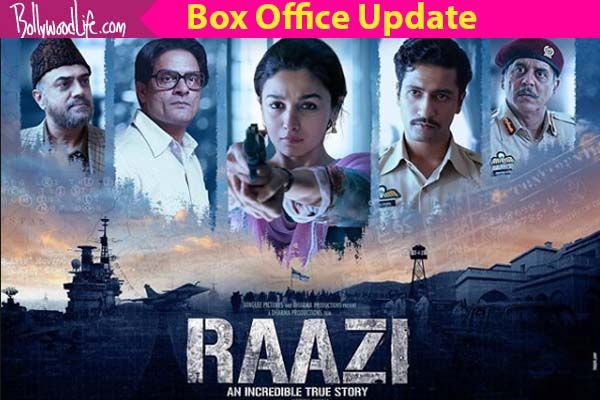Raazi Box Office Collection Day  Alia Bhatt And Vicky Kaushals Film Sees A Massive