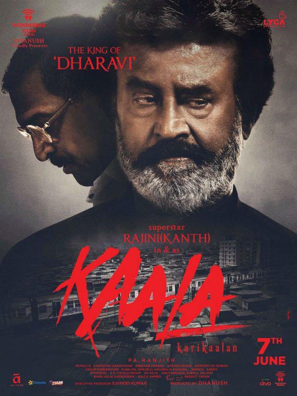 Kaala New Poster It S Rajinikanth Versus Nana Patekar On