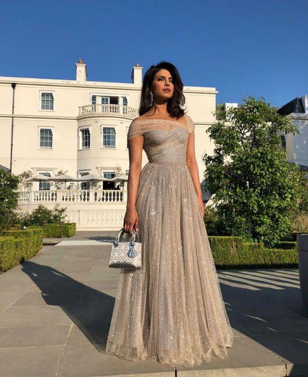 Priyanka Chopra Is A Stunner In An Embellished Off