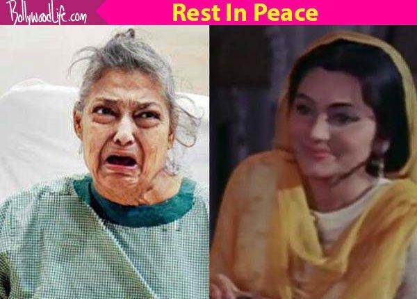 Pakeezah actor Geeta Kapoor passes away