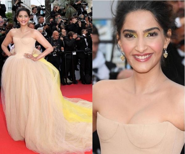 Sonam Kapoor defines the Desi Bridal Look at Cannes 2018