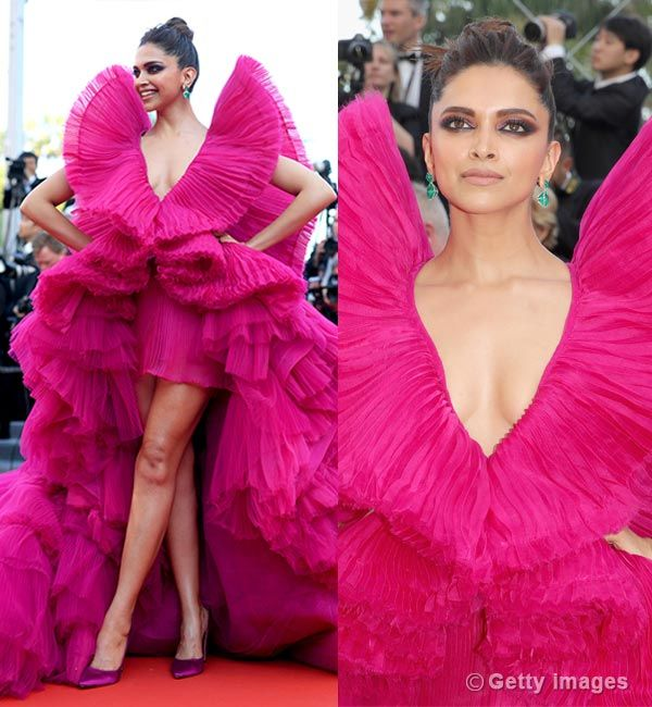 Cannes 2018: Deepika Padukone steps out of her comfort ...