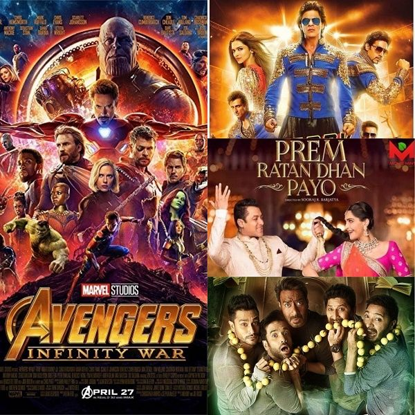 Avengers: Infinity War BEATS Happy New Year and Prem Ratan Dhan Payo in  just 16 days