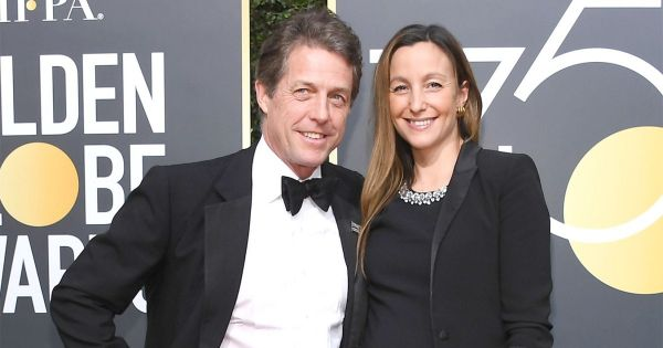It's Love, Actually as Hugh Grant 'ties the knot' to TV producer