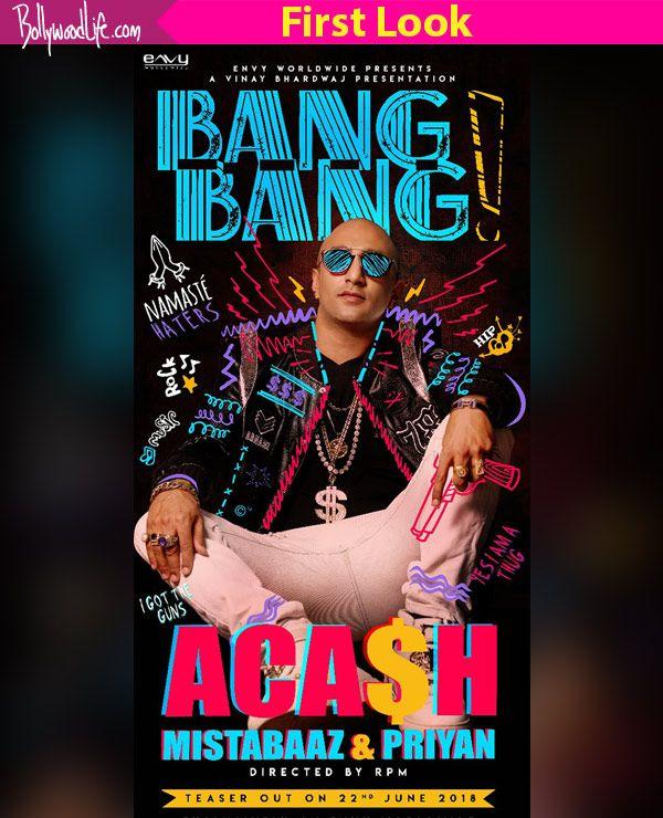Akash Dadlani rocks the gangsta look in the poster of his upcoming single Bang Bang
