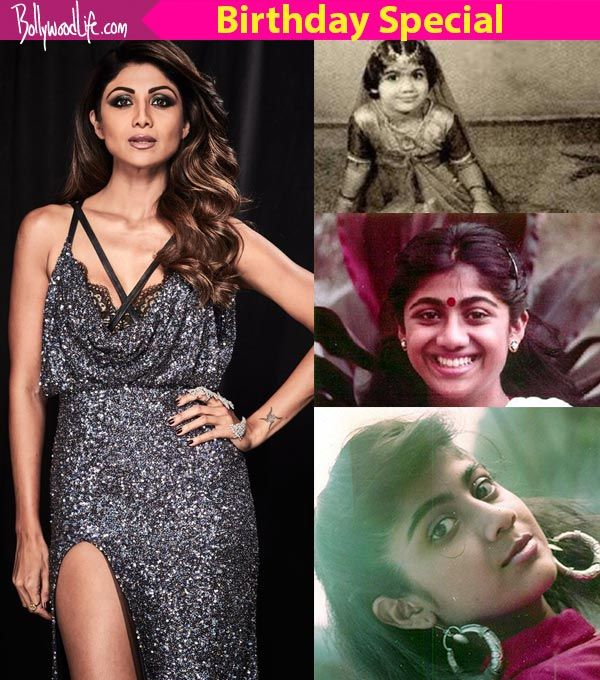 On Shilpa Shetty's 43rd birthday, here's looking at some of her unseen childhood pics!