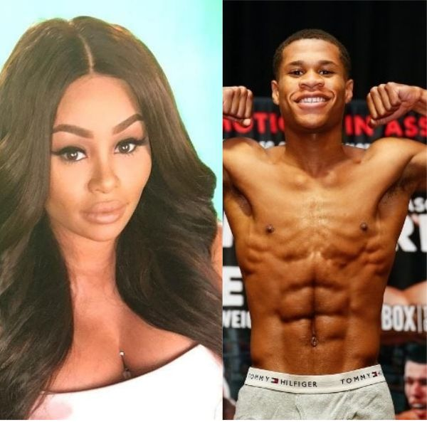 Blac Chyna Dating Teen Boxer Devin Haney