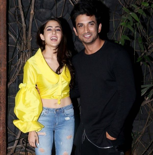 Sara Ali Khan, Sushant Singh Rajput party after wrapping