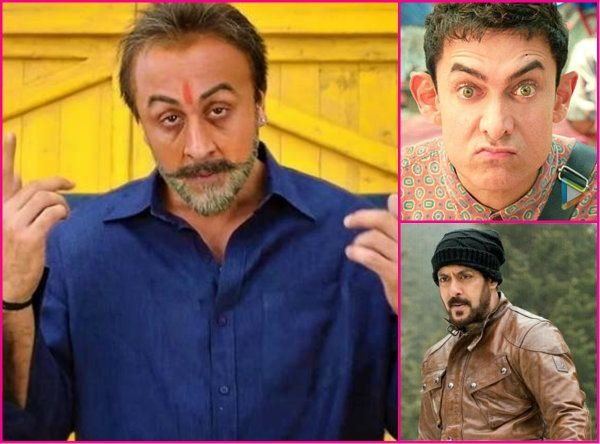 Image result for salman aamir and sanju
