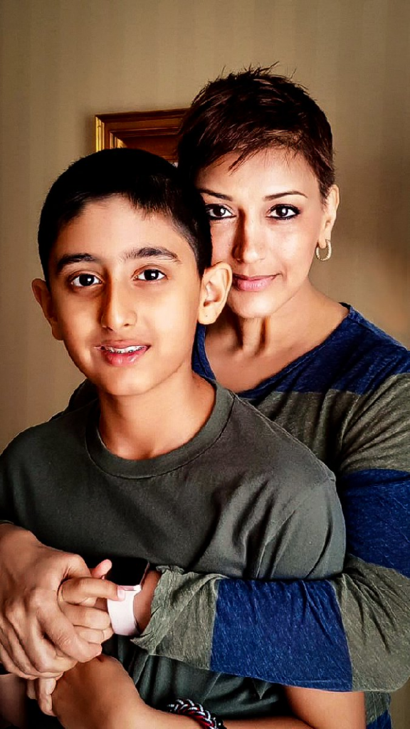 Sonali Bendre shares how she derives strength from her son ...
