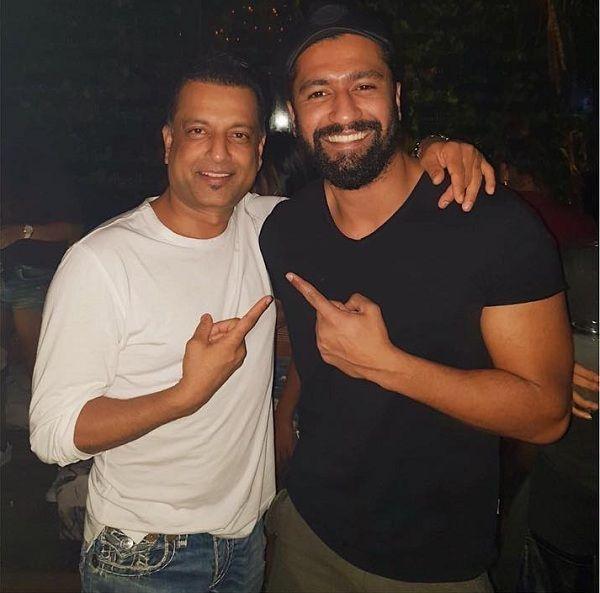 [In Pic] When Sanju's best friend Kamli Vicky Kaushal met Sanjay Dutt's BFF Paresh Ghelani