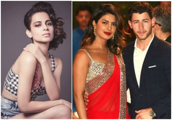 Kangana Ranaut confirms Priyanka Chopra and Joe Jonas' engagement