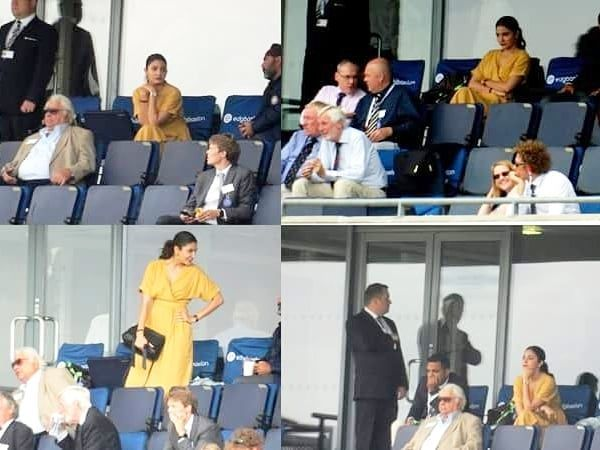 Image result for latest images of Anushka Sharma offers a silent prayer just like us as Virat Kohli does his best to make India win against England