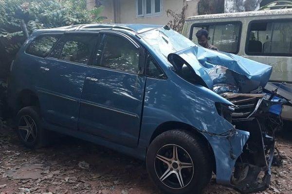 Singer-violinist Balabhaskar's daughter dies in car accident in Thiruvananthapuram, couple remains critical