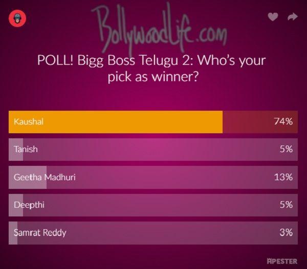 big boss telugu vote kaushal