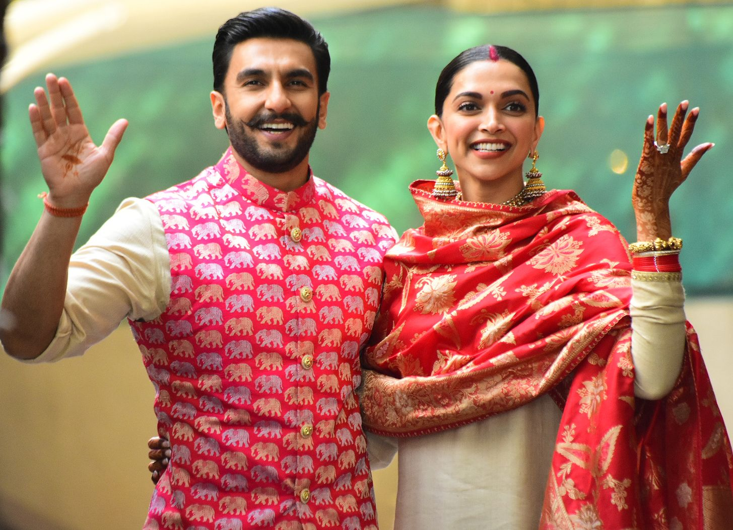 Check Out New Pics From Ranveer Singh & Deepika Padukone's Grand Wedding In Italy
