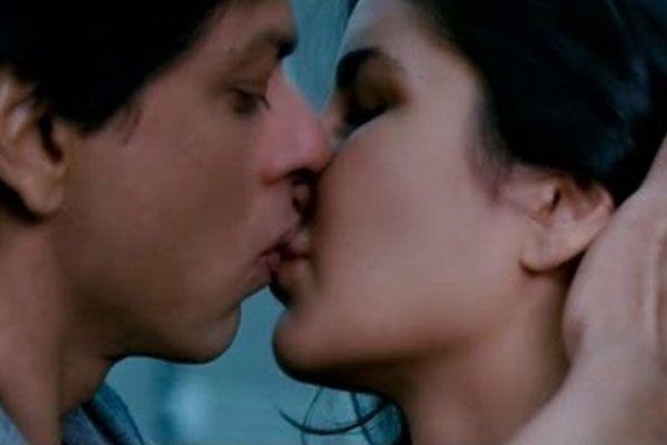 first lip kiss