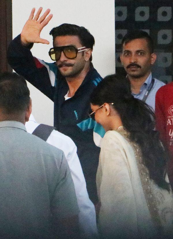 Newlyweds Ranveer Singh and Deepika Padukone head to Udaipur for Isha-Anand pre-wedding festivities - view pics
