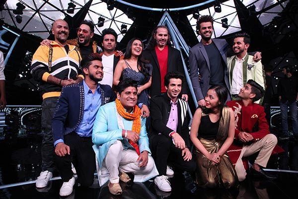 Badshah-and-Matt-Hardy-on-Indian-Idol-10